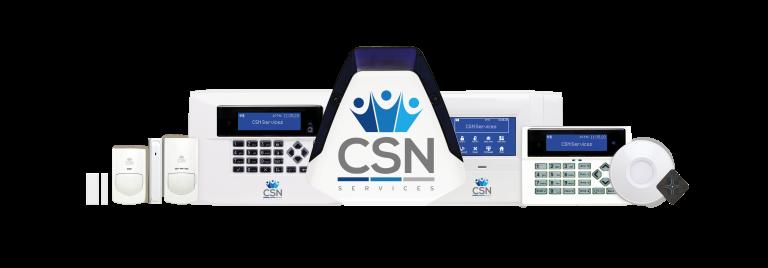 CSN Services burglar alarm products