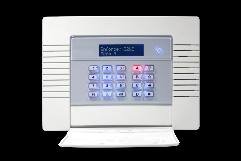 burglar alarms panel