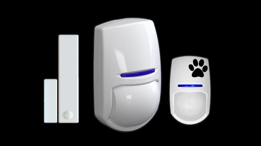burglar alarms detectors